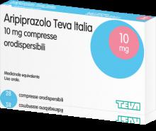 Confezione di ariprazolo (abilify)