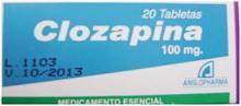 Confezione di Clozapina